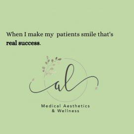 AL Aesthetics - a smile is success